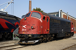 Regionstog MX 42 at Odense DSB Jernbanemuseet on 6 September 2014.
