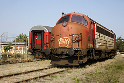 Captrain MY 1122 at Odense DSB Jernbanemuseet on 6 September 2014.