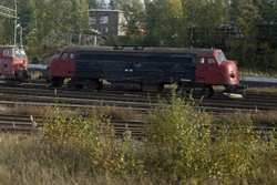 Midjyske Jernbaner MY28 ('Victoria') at Nässjö on 7 October 2015.