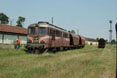 BDZ 06.102 + freight train from the Haskovo factory to Haskovo (BG) at Haskovo weigh bridge (BG), 27 June 2005.