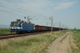 BDZ 46.044 + mixed freight train from Burgas (BG) to Pirdop (BG) at Straldza (BG), 30 June 2005.