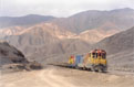 FCAB 1426 + 1413 + empty copper train (Antofagasta - Calama) at La Negra, 19 November 2005