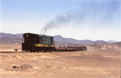 FCDP 92 + empty copper train (Chanaral - Potrerillos) at Pueblo Hundido, 20 November 2005