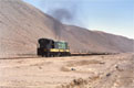 FCDP 92 + empty copper train (Chanaral - Potrerillos) at Llanta, 20 November 2005